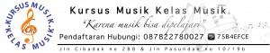 kursus musik kelas musik banner