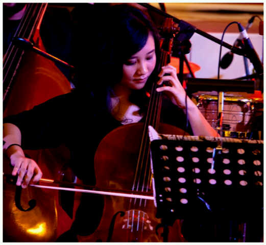 widya febianti guru cello kelas musik bandung