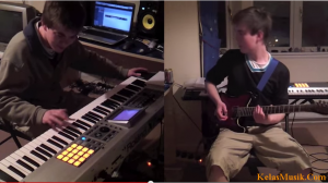 belajar keyboard belajar gitar