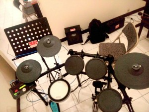 Drum dtx 522k yamaha - kelas musik bandung