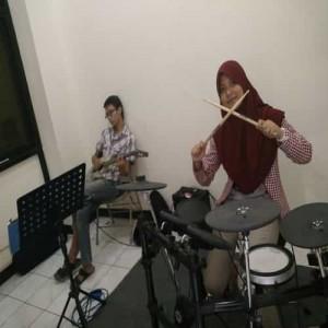 belajar drum kelas musik
